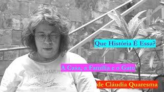 """QUE HISTÓRIA É ESSA? """"A Casa, a Família e o Gato"""", de Cláudia Quaresma"""