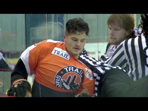 Shane Kelly Roughs Up Korbyn Chabot 9-2-17