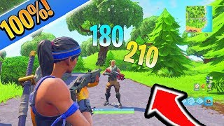 How to Have 100% Headshot Aim Fortnite Tips and Tricks! How to Aim Better in Fortnite Ps4/Xbox Tips!