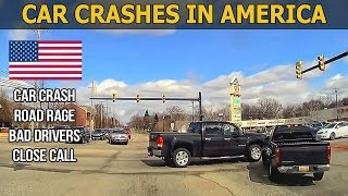 Car Crashes in America (USA) bad drivers, Road Rage 2017 # 2