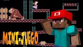Donkey Kong Mario Bros!! | MINI-JUEGO MINECRAFT