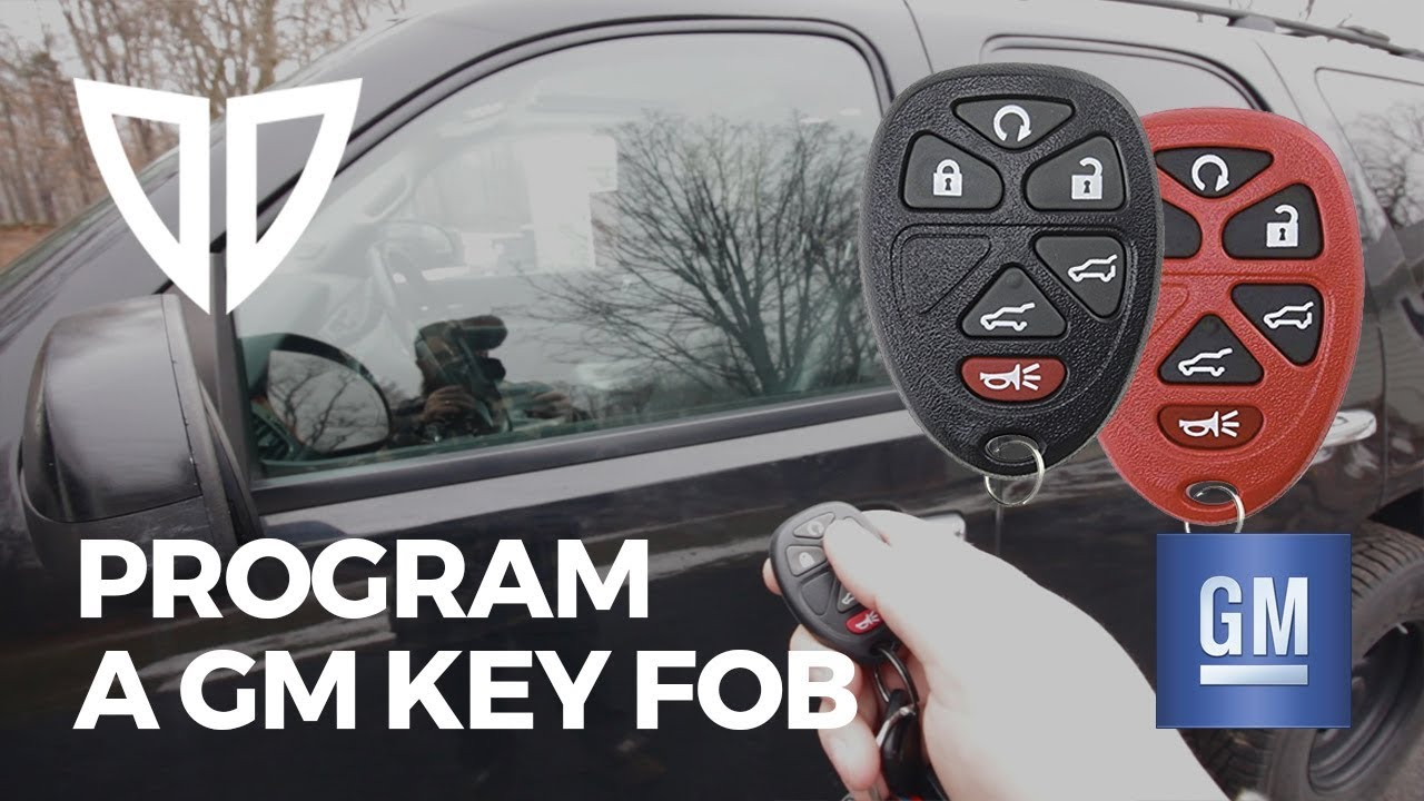 How to Program a Chevrolet Tahoe Key Fob (GMT900) GM Truck