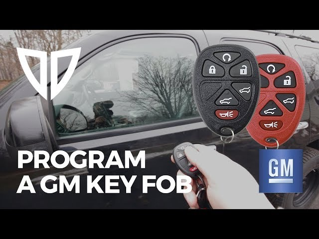 Chevrolet Tahoe Car Key Fob and Remote Programming