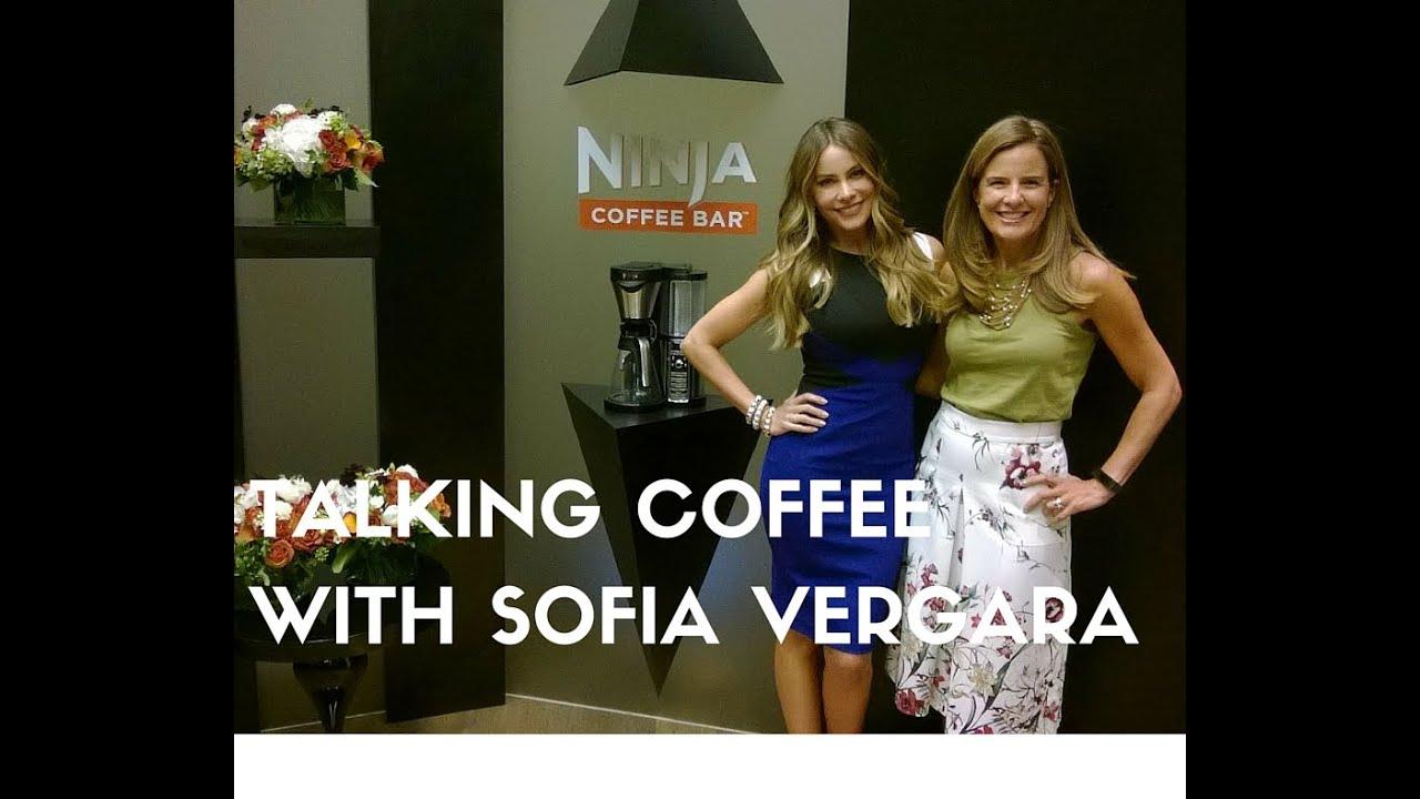 New Coffee Maker Sofia Vergara : Testing Ninja Coffee Bar with Sofia Vergara - YouTube