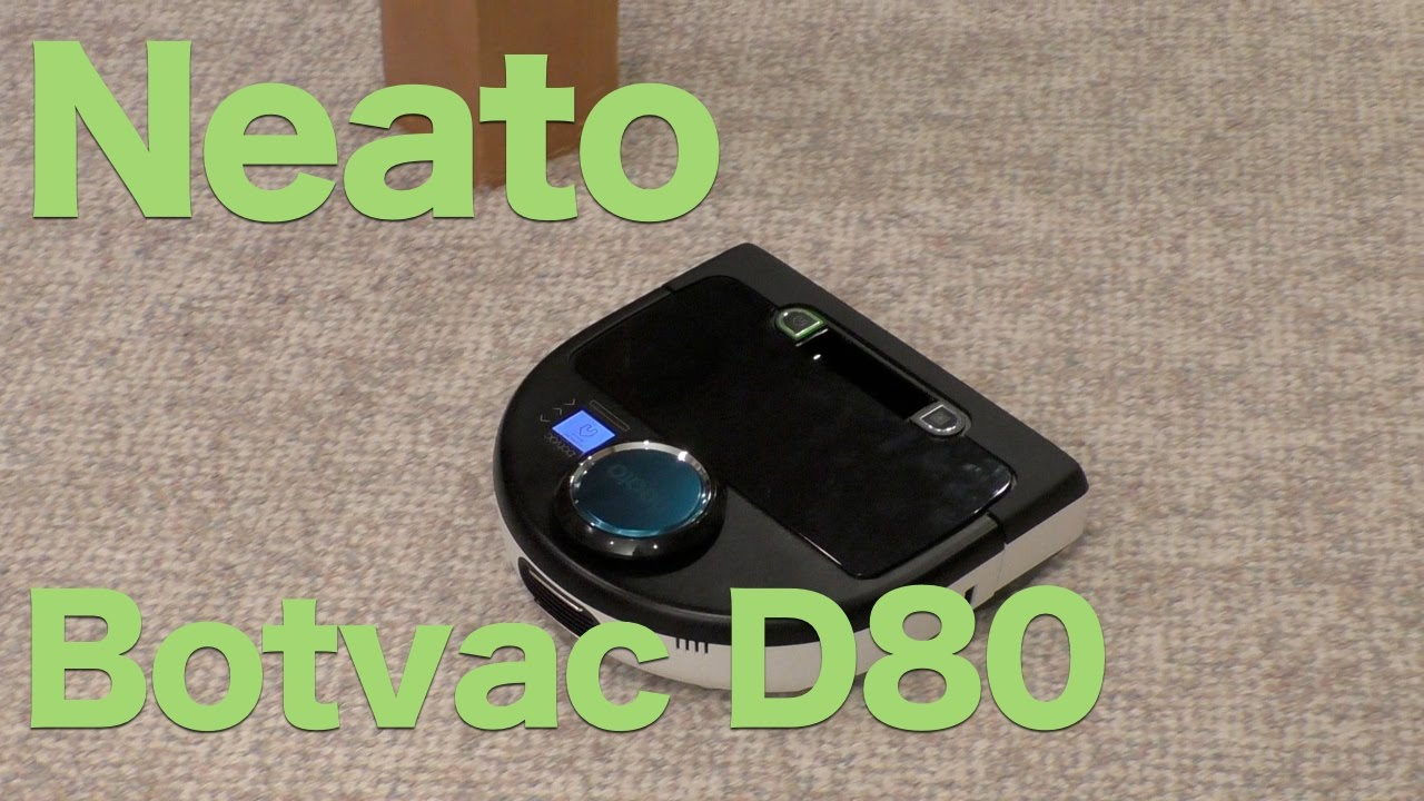 Neato Botvac D80 Review Robotic Vacuum That Cleans While You Sleep Youtube