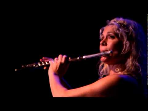"Rhonda Larson performs her flute solo, ""Be Still My Soul"""