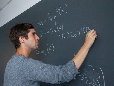 Mathematician Jacob Lurie, 2014 MacArthur Fellow