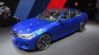 2018 BMW M5 F90 V8 Blue Walkaround Interior Exterior | IAA 2017