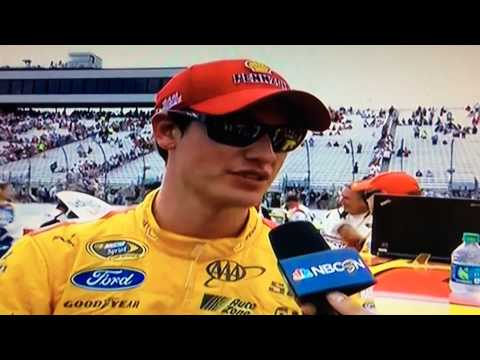 Joey Logano Post Race Interview New Hampshire