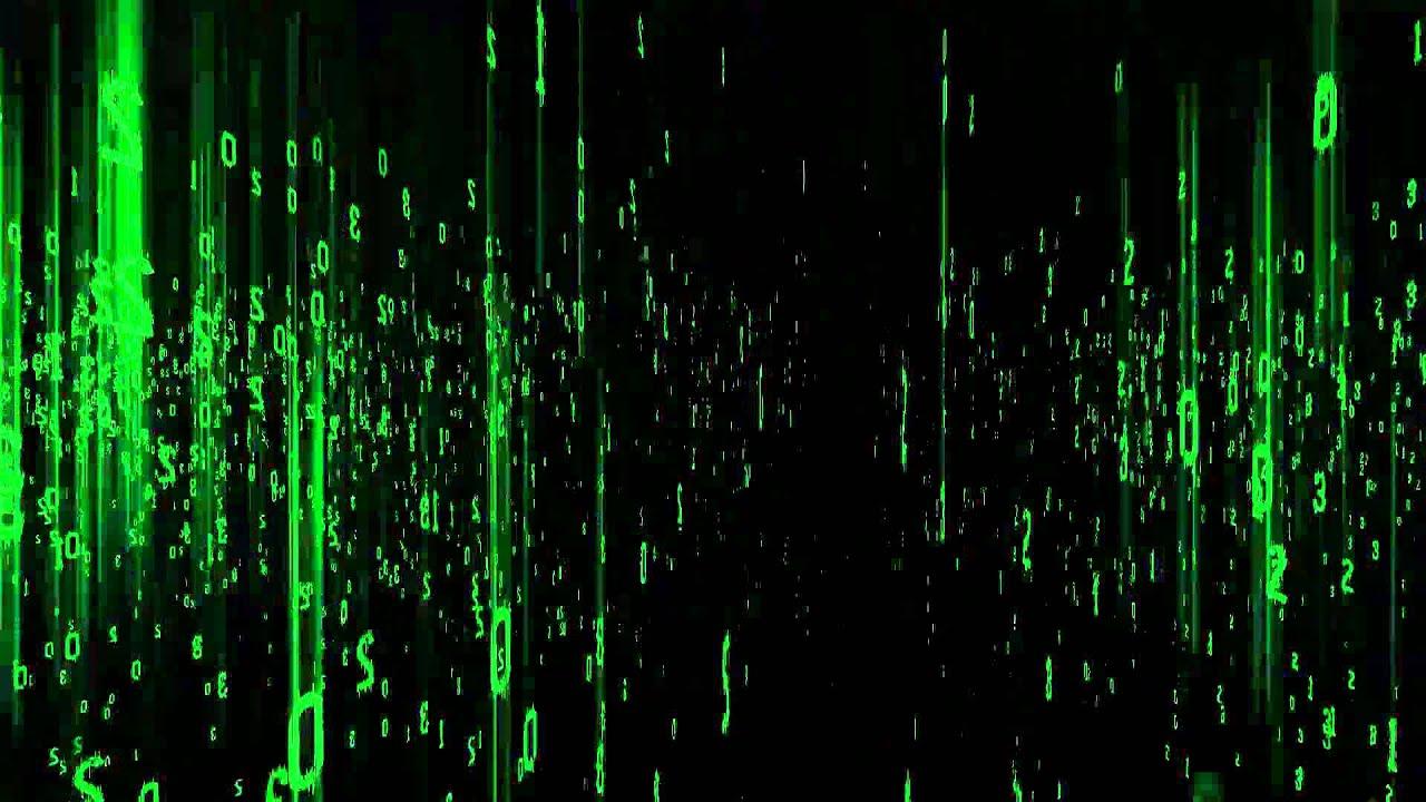 Matrix Falling Code Wallpaper Cascading Matrix Code Hitfilm Test Youtube