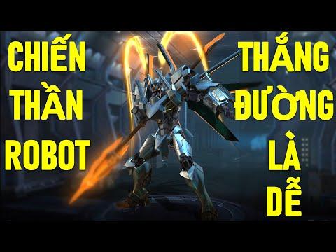 Chiến thần Robot Lữ bố ép đường win lane là dễ - Trang phục mới Tư lệnh robot