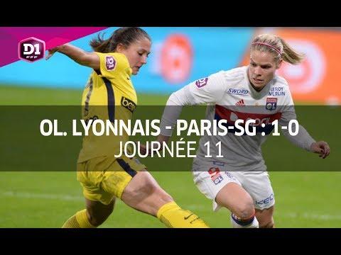 J11 : Olympique Lyonnais - Paris-SG (1-0), le résumé