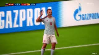 FIFA 18 WORLD CUP   RUSSIA VS SPAIN GAMEPLAY & TUNISIA VS ENGLAND GAMEPLAY!
