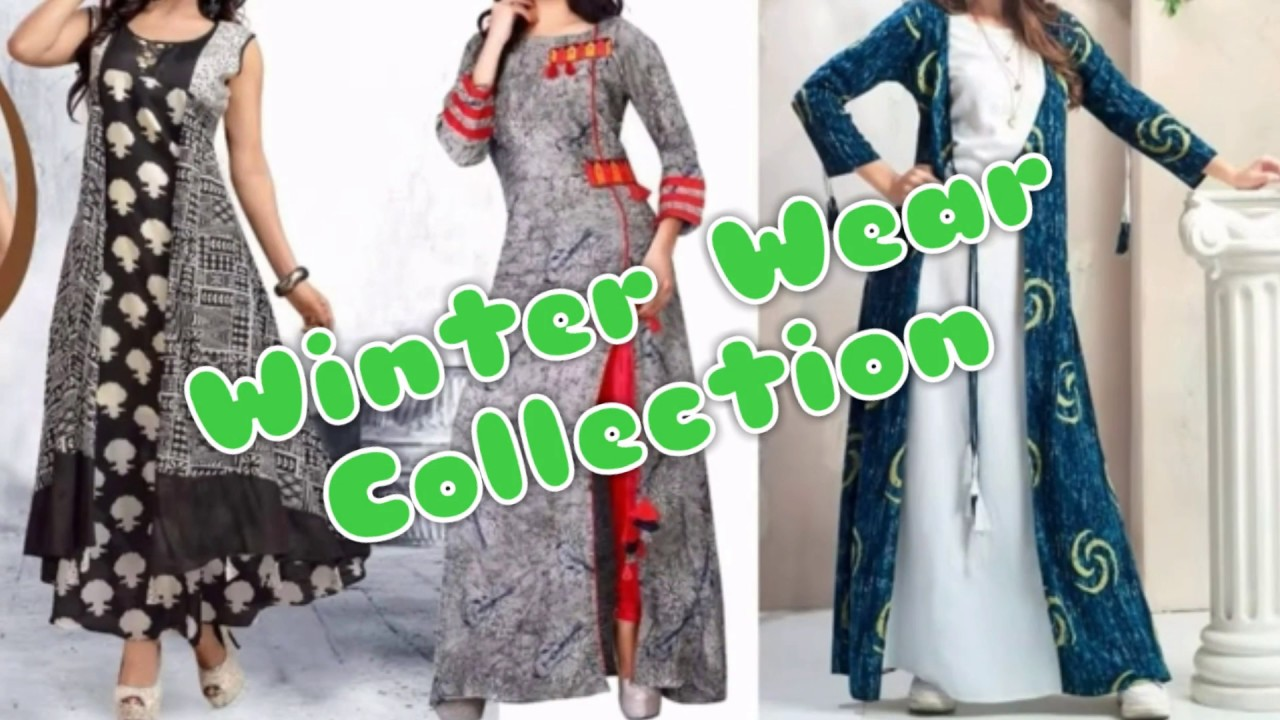 Winter Wear Collection 2018 2019 Indian And Pakistani Dresses