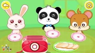 Baby Panda Care | Play and Learn How to Care for Baby | Babybus Kids Games