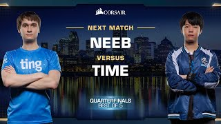 Neeb vs TIME PvT - Quarterfinals - WCS Fall 2019 - StarCraft II