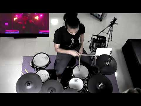 Ahzee & Faydee - Burn It Down  (Electric Drum cover by Neung)
