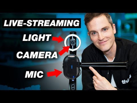 All-in-one Live Streaming Camera, Microphone and Light — Marantz Turret Review