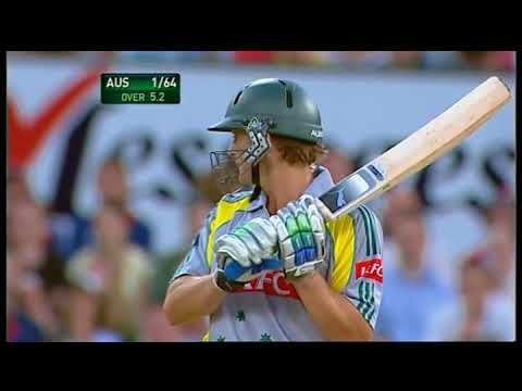 Adam Gilchrist T20 match v England at the SCG