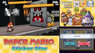 Paper Mario: Sticker Star - ALL Boss Battles