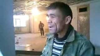 Tajik Worker Singing indian Song