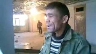 Tajik Worker Singing indian Song