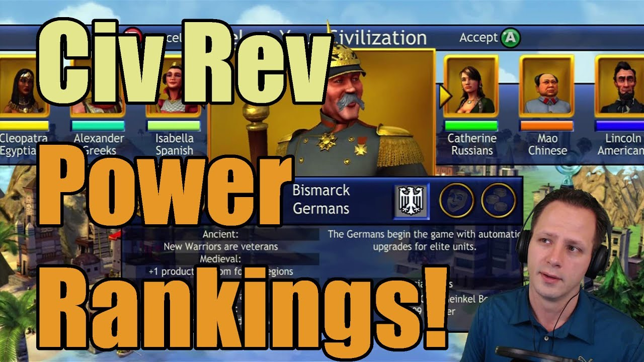 Top 16 Civilizations in Civ Rev ~ Official Power Rankings!☺#14 WILL SHOCK  YOU!☺