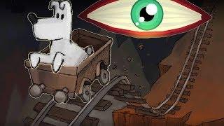 Новые приключения собачки Мимпи. #8. Подземная железная дорога. MIMPI мультик игра для детей