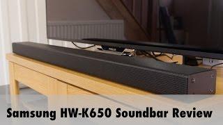 samsung hw k650 soundbar review