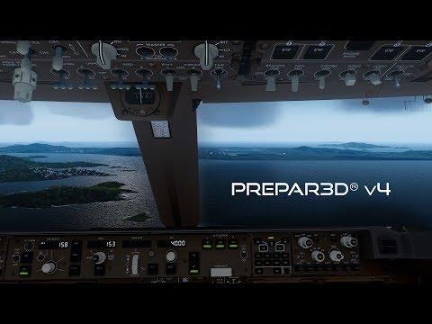 Prepar3D V4.3 | Prague To Seoul | LKPR-RKSI | PMDG 747-8i | P3D