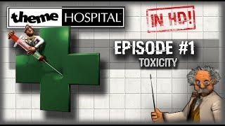 HOW TO PLAY THEME HOSPITAL TUTORIAL WALKTHROUGH! | Theme Hospital HD Let's Play | #1