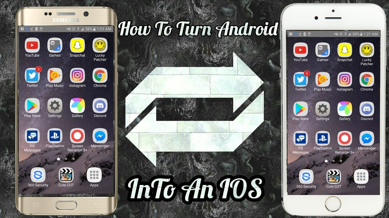 how to turn your android into a iphone turn your android device into a ios device 21166