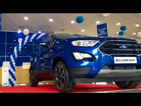 2018 New Ford EcoSport with Fun Roof- Signature Edition !!
