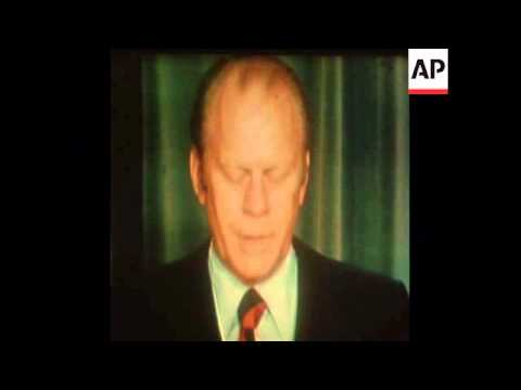synD 23 12 75 PRESIDENT GERALD FORD DELIVERS STATEMENT ON ENERGY BILL