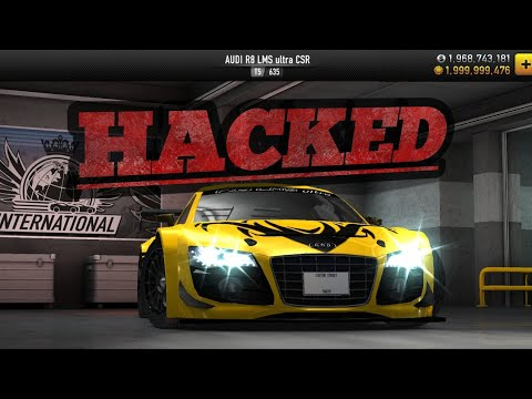 CSR RACING HACK NO ROOT | UNLIMITED GOLD AND CASH |