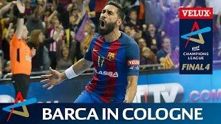 Barcelona return to cologne | velux ehf final4