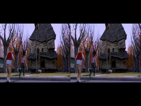 Monster House  3D 1080p