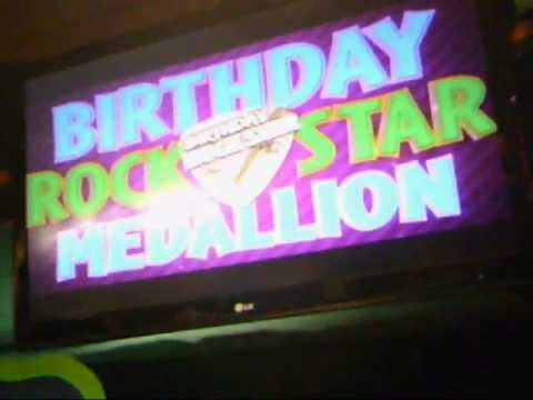 Rock Star Birthday 3-Stage Version (Animatronics Only, No Walkaround)