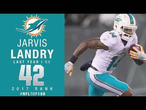 #42: Jarvis Landry (WR, Dolphins) | Top 100 Players of 2017 | NFL