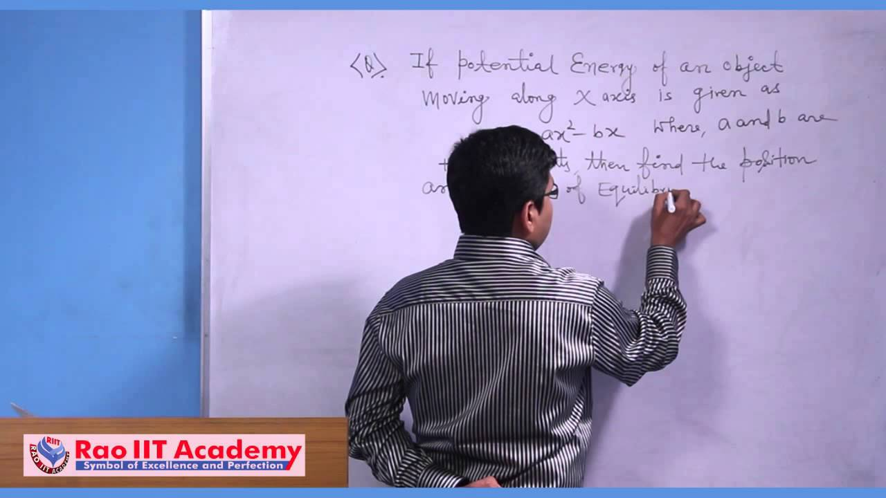 Work energy power types of equilibrium iit jee main and work energy power types of equilibrium iit jee main and advanced physics video lecture biocorpaavc Gallery