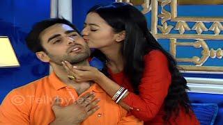 Swara KISSES  Sanskar | SwaSan romance in Swaragini..