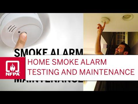 Smoke Alarm Testing And Maintenance