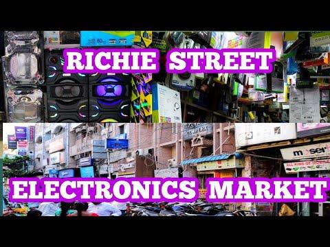 CHENNAI RICHIE STREET,ELECTRONICS MARKET, RADIO MARKET,COMPUTER MARKET, MOBILE MARKET,MADRAS VLOGGER