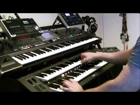 Roland BK-7m - Sax Ballad - Careless Whisper