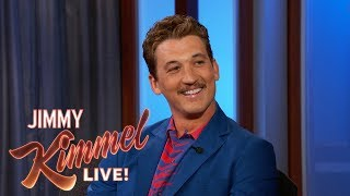 Miles Teller on His Engagement, Bachelor Party & Mustache