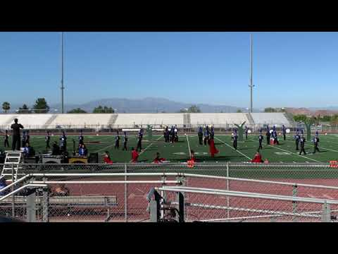 "San Gorgonio High School Spartan Marching Band And Color Guard 2019 ""Little Red"""