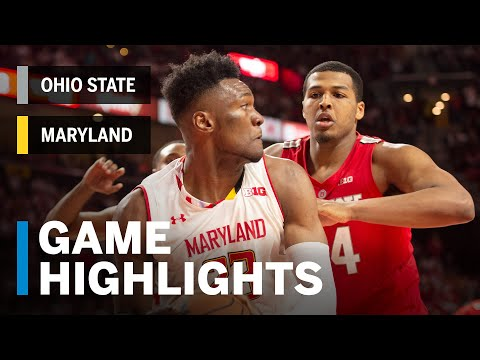 download Highlights: Ohio State at Maryland | Big Ten Basketball