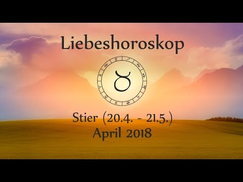 horoskop sternzeichen stier liebe und leben im april 2018 youtube. Black Bedroom Furniture Sets. Home Design Ideas