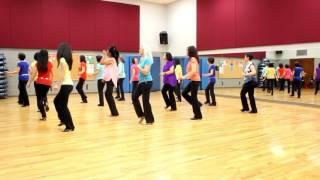 (Sweat) A La La La La Long - Line Dance (Dance & Teach in English & 中文)