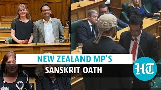 New Zealand MP's Sanskrit oath goes viral: Watch the video